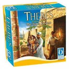Thebes The Tomb Raiders The Card Game