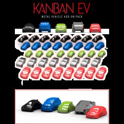 Coches Metálicos Kanban EV