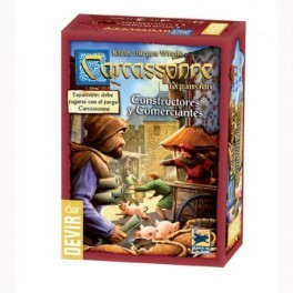 Carcassonne Constructores y Comerciantes (Nueva Edición)