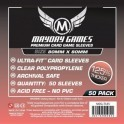 Fundas MayDay Cuadrada (80X80MM) (100)